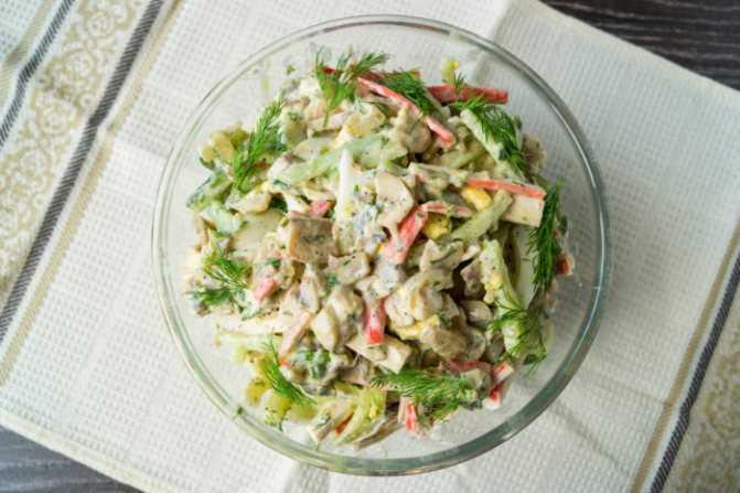 Салат «снежная королева»: рецепты