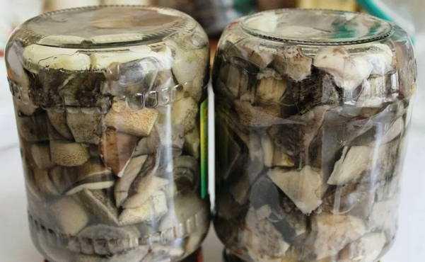 Готовим исключительно только самые вкусные консервированные подберезовики