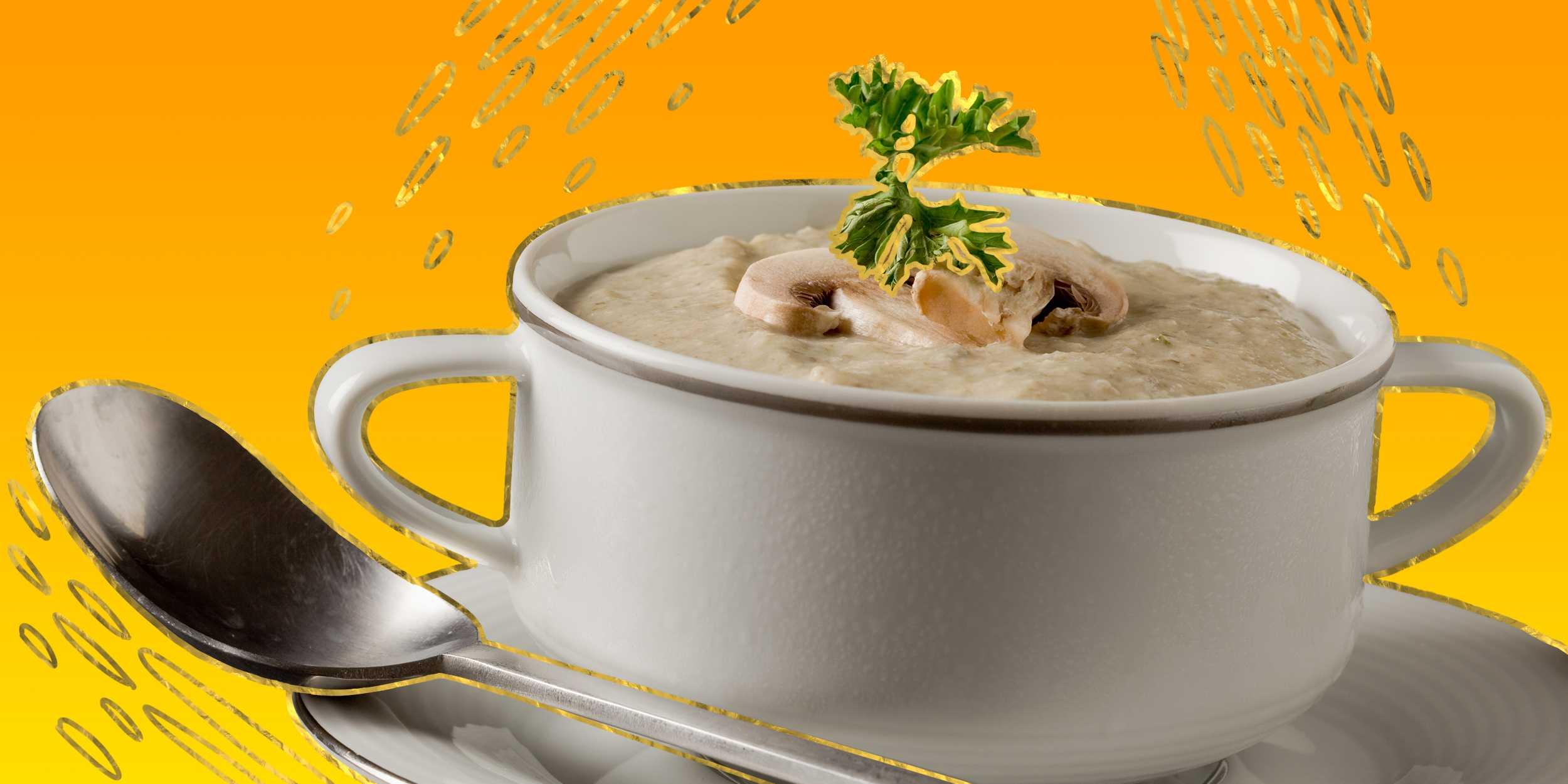 Суп с курицей и шампиньонами: основные нюансы приготовления. Популярные рецепты блюда с фотографиями и перечнем ингредиентов. Рекомендации и советы.