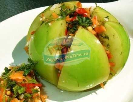 Зеленые помидоры пальчики оближешь на зиму: 12 рецептов
