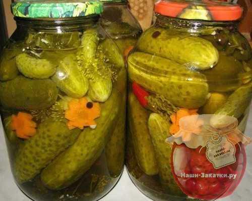 Огурцы с горчицей на зиму в банках без стерилизации: очень вкусно!