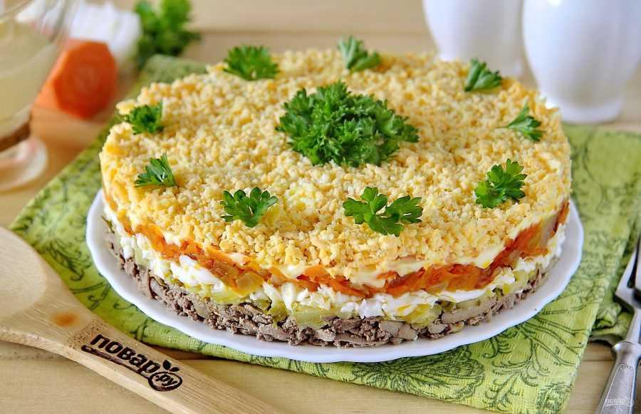 Зеленый салат с куриной печенкой рецепт с фото пошагово - 1000.menu