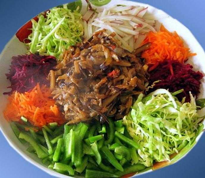 Салат чафан класический рецепт с фото пошагово