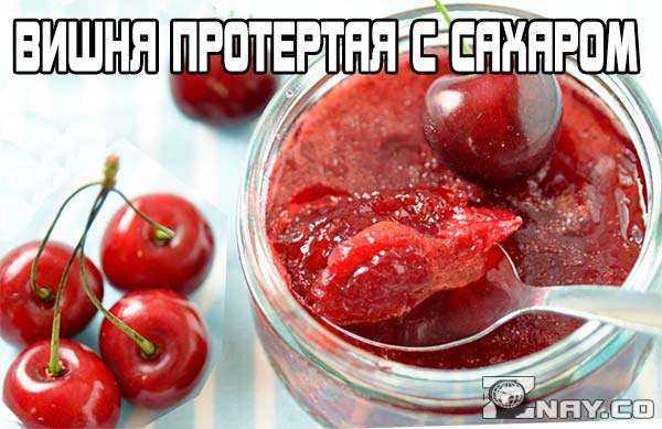 Рецепт черной смородины, протертой с сахаром на зиму
