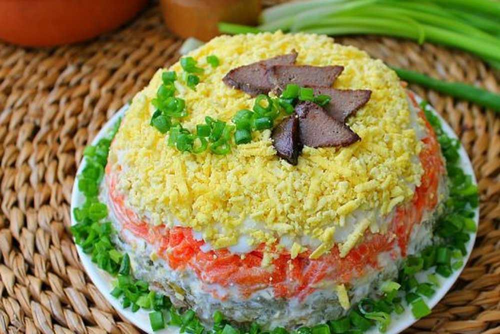 Салаты на день рождения - простые и вкусные рецепты с фото
