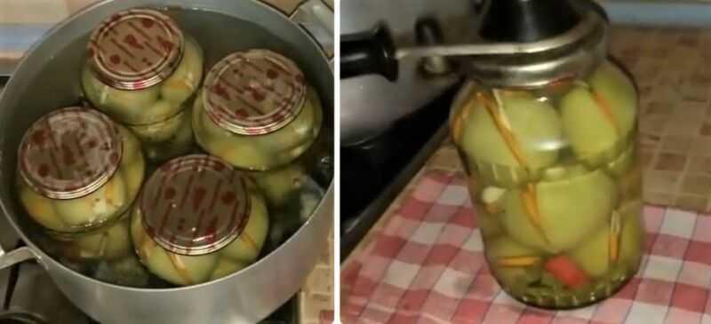"""Зеленые помидоры на зиму в банках - 11 простых рецептов """"пальчики оближешь"""""""