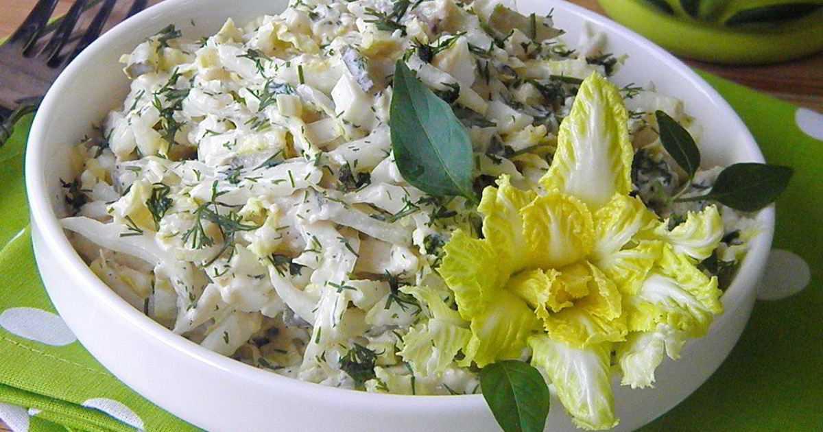 Как приготовить салат с китайской капустой и курицей : поиск по ингредиентам, советы, отзывы, пошаговые фото, подсчет калорий, изменение порций, похожие рецепты