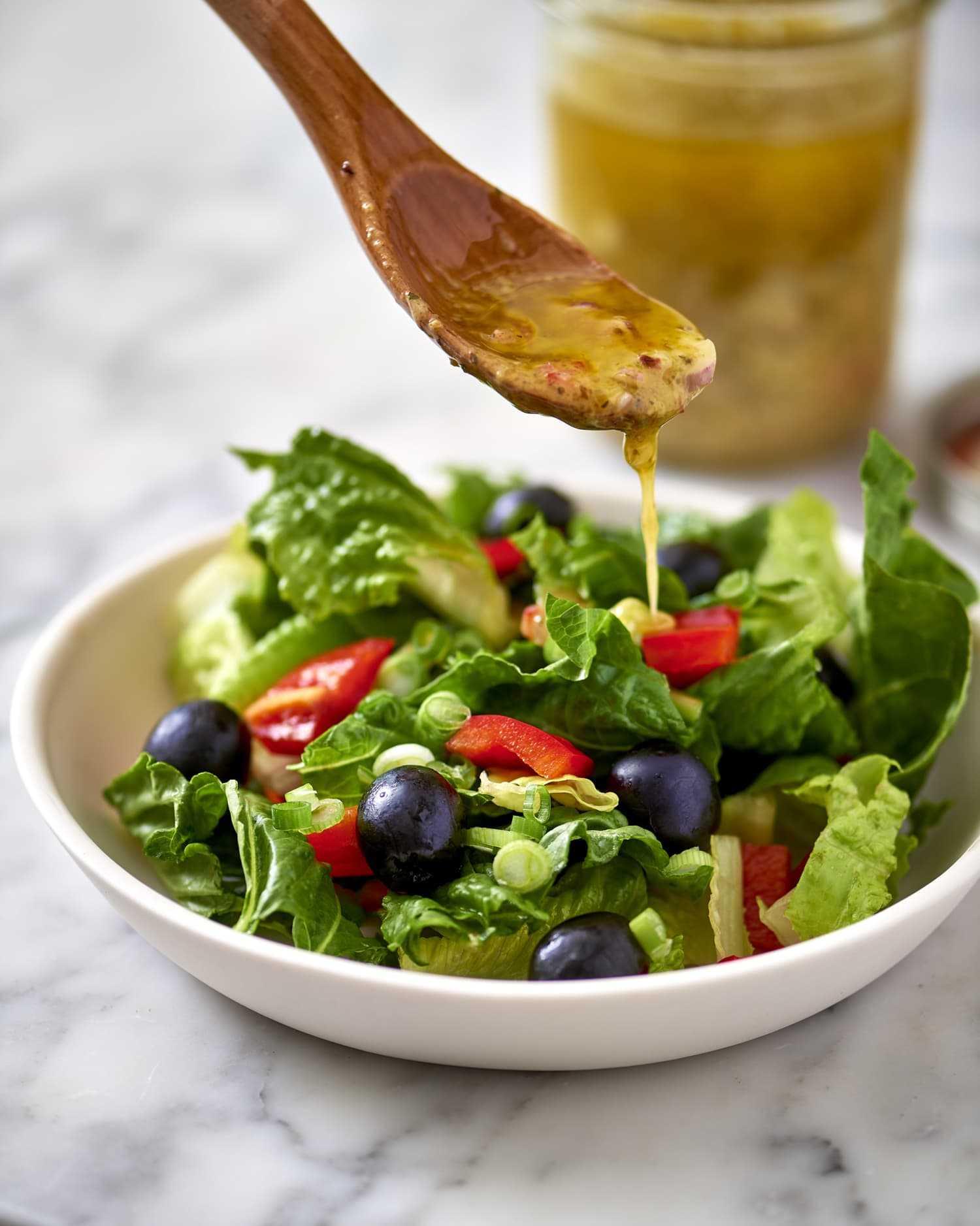5 вкусных заправок для салатов   кулинария - всё pro еду!
