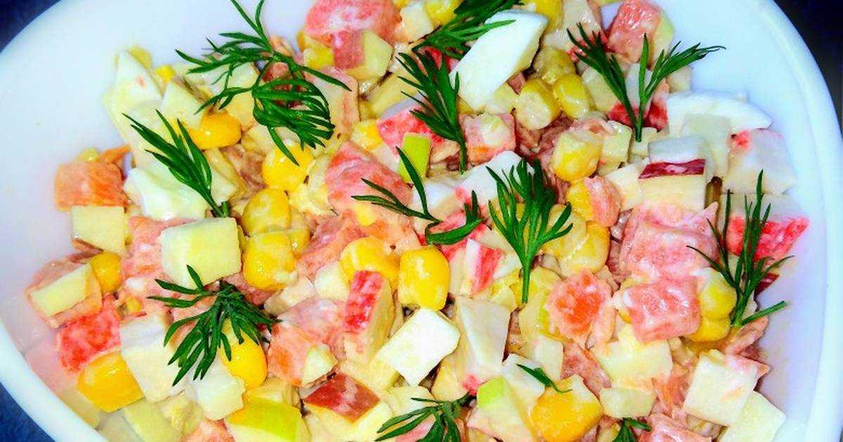 Крабовый салат — 10 очень вкусных и простых рецептов
