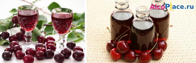 Вишневая наливка - как приготовить в домашних условиях из свежих и замороженных ягод по рецептам с фото