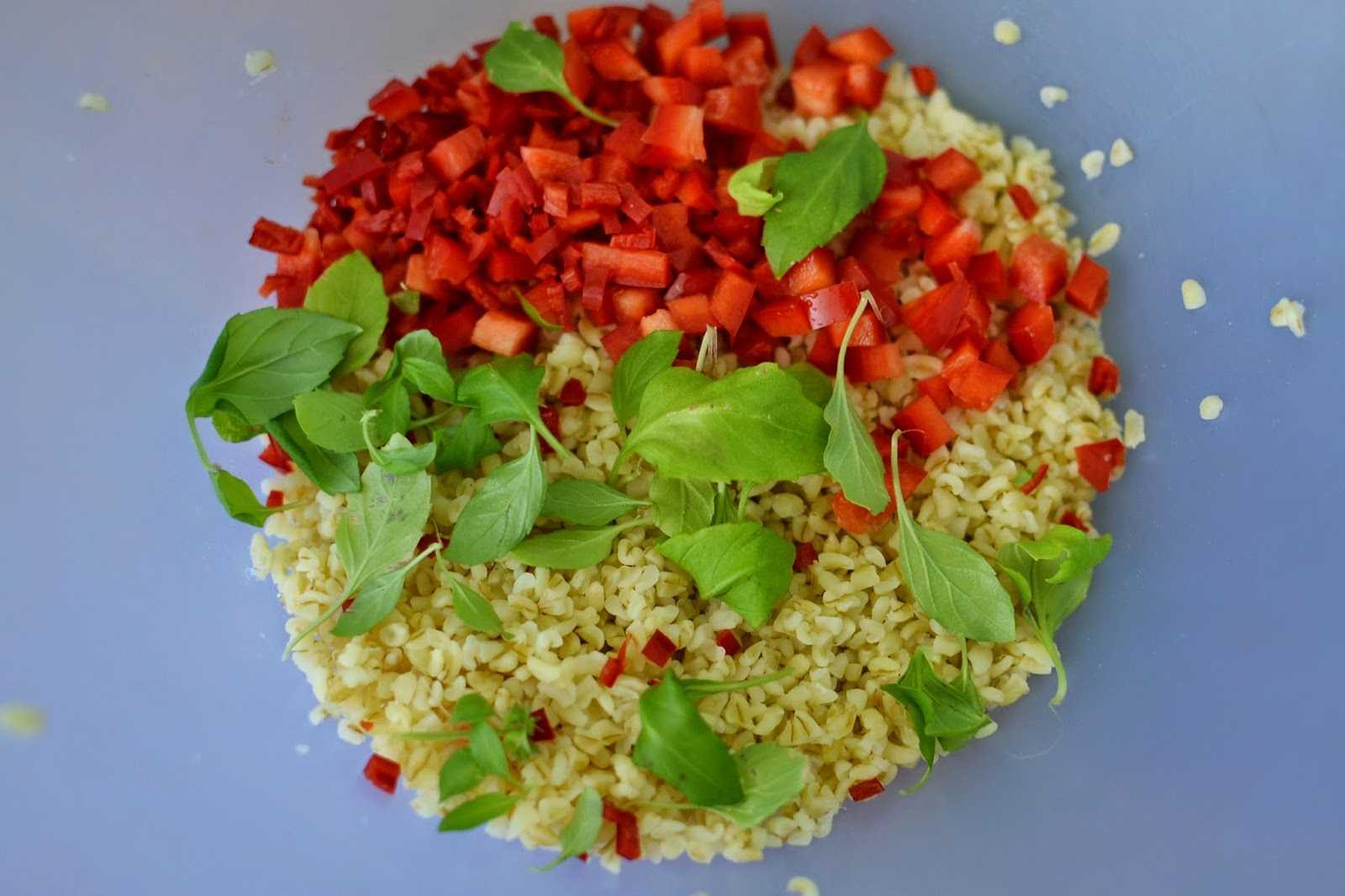 Салат табуле с булгуром: для настоящих ценителей восточной кухни