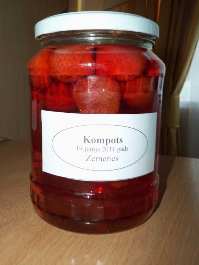Как варить компот из замороженных ягод, рецепты