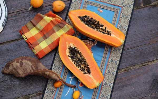 Сушеная папайя: польза и вред для организма, калорийность