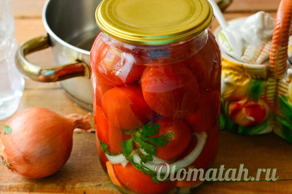 Маринованные помидоры по-болгарски