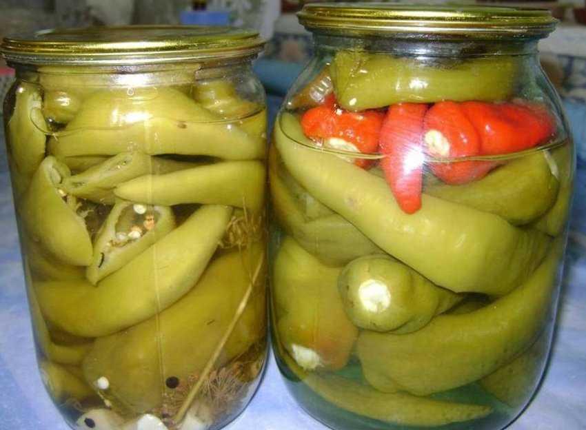 Перец цицак маринованный на зиму: простые рецепты приготовления (в масле, острый, с медом и другие)