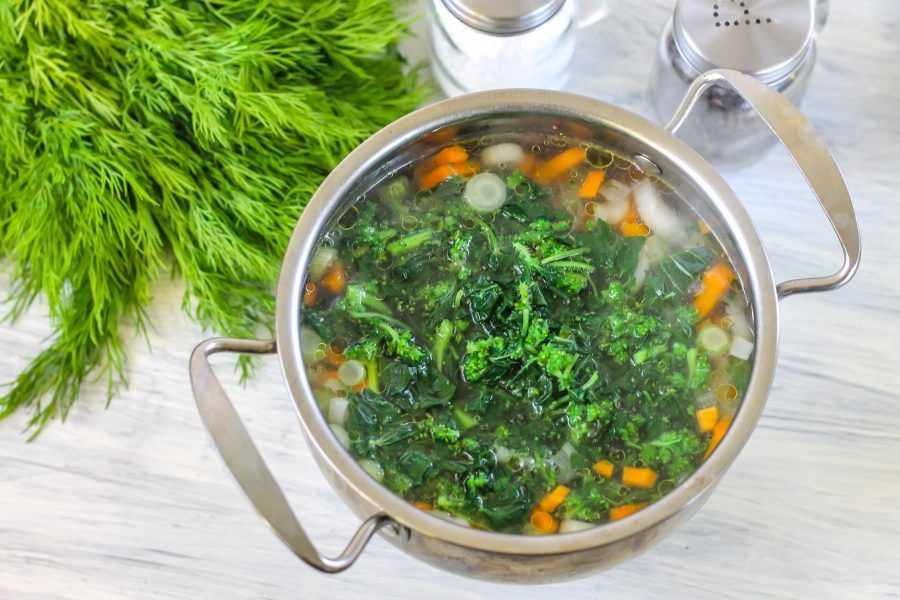 Как приготовить вкусный суп из крапивы — пошаговый рецепт