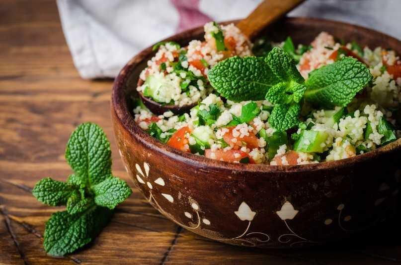 Салаты с кус кус: оригинальные рецепты с овощами и мясом, пошаговое приготовление в домашних условиях с фото