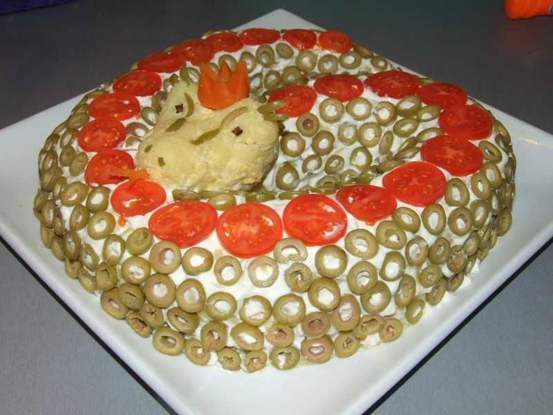 Салат клязьма - известное блюдо русской кухни: рецепт с фото и видео