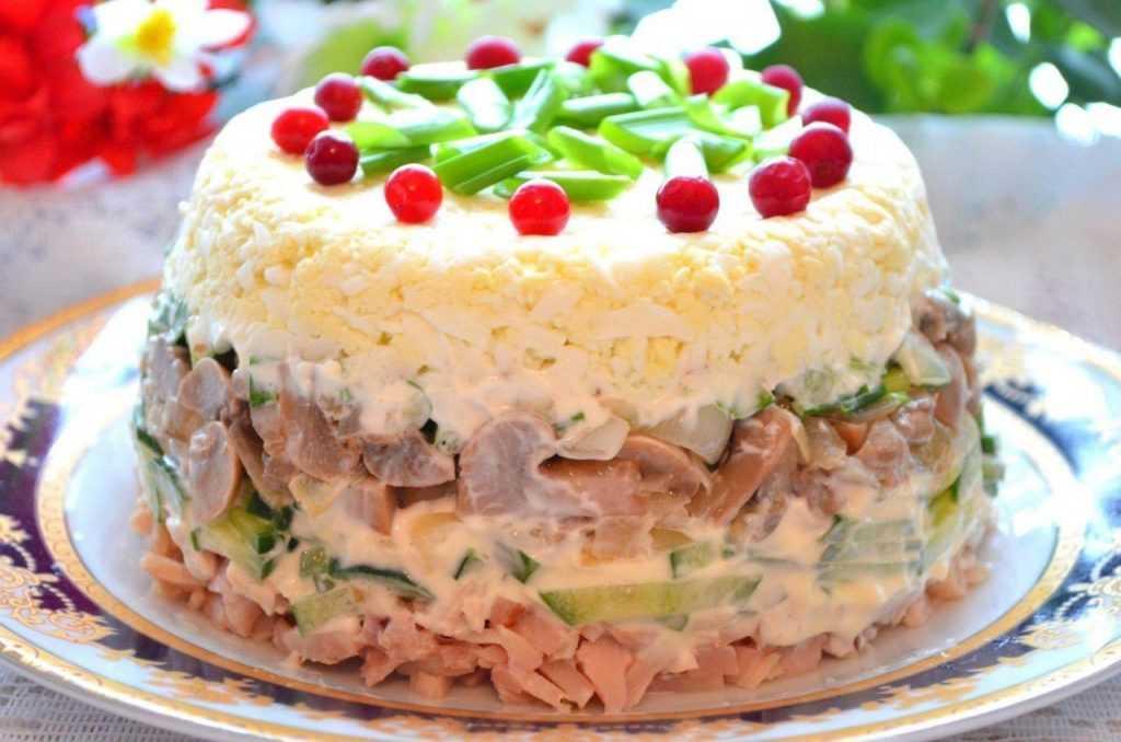 Новые рецепты салатов на день рождение