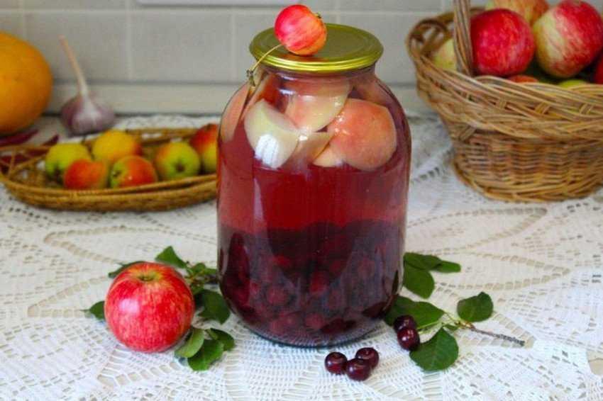 Компот из черешни на зиму: вкусные и простые рецепты
