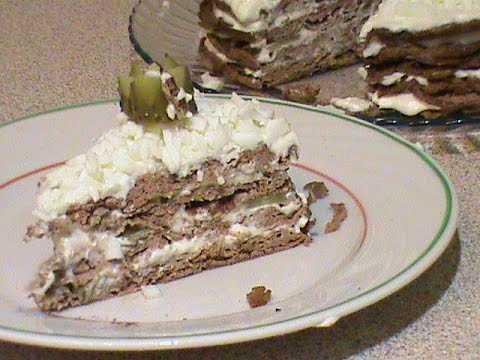 Печеночный торт из куриной печени с молоком расчет калорийности пошаговый рецепт с фото