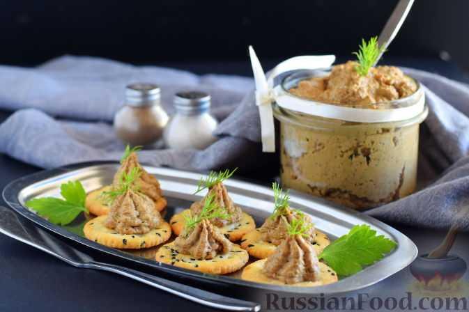 Грибной паштет: рецепт приготовления в домашних условиях