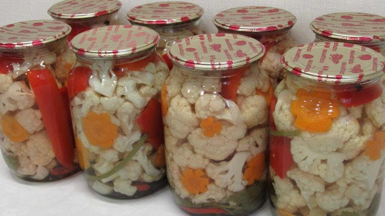 """Маринованная цветная капуста на зиму: 6 лучших рецептов приготовления """"пальчики оближешь"""""""