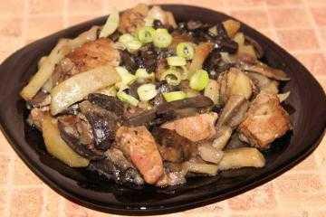 Жареная картошка с мясом: самые вкусные рецепты