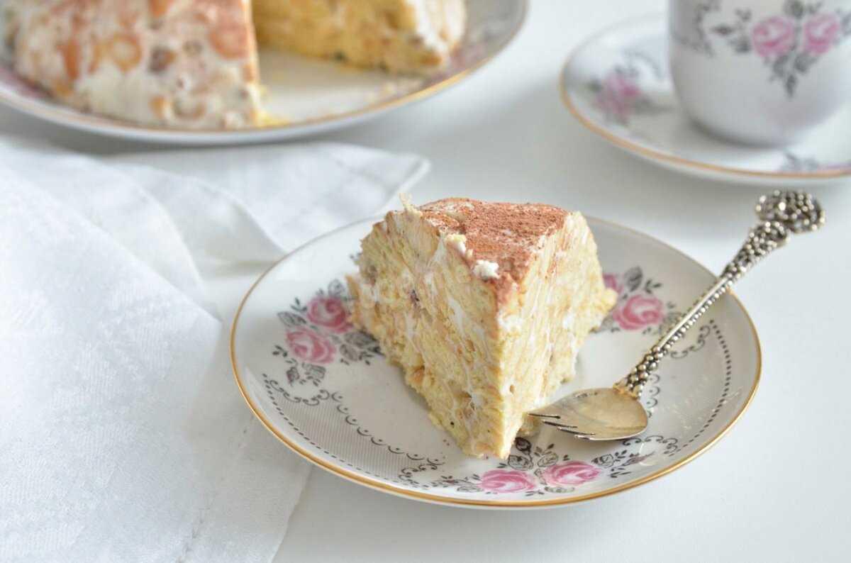 Салат-торт из крекеров - 12 пошаговых фото в рецепте