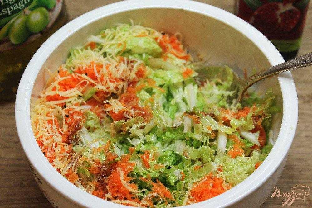 Топ-5 легких пп-салатов из пекинской капусты