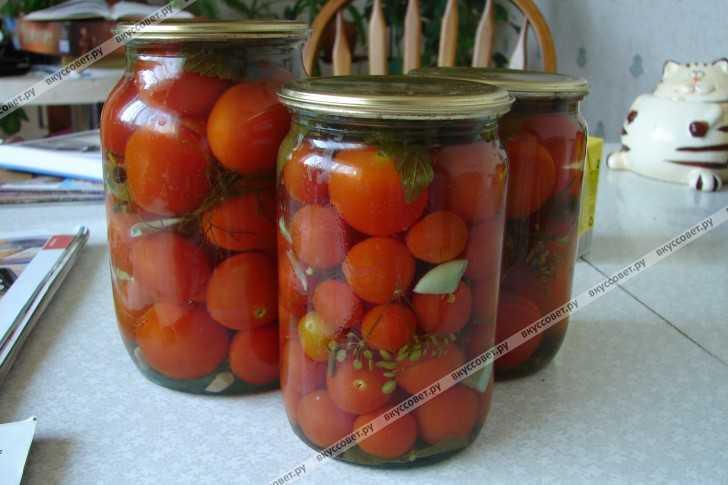 Как приготовить вкусные помидоры, малосольные с чесноком, укропом