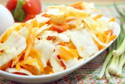 Капуста маринованная быстрого приготовления - рецепт (вкусная!)