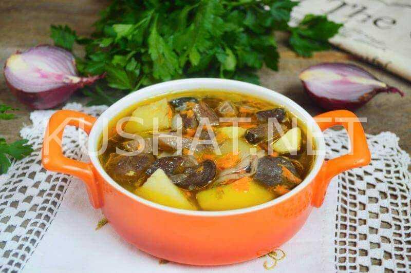Грибной суп — 5 простых рецептов как сварить суп из замороженных грибов