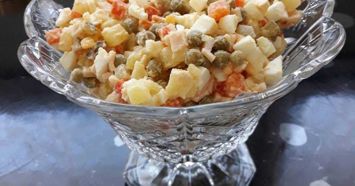 Салат столичный пошаговый рецепт