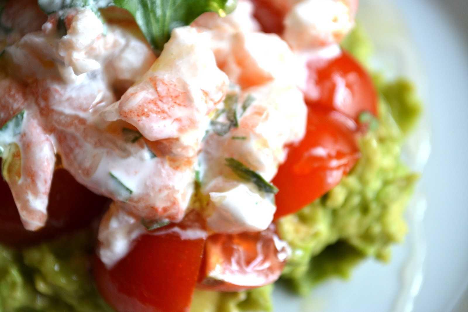 Салаты с креветками - 20 простых и вкусных рецептов
