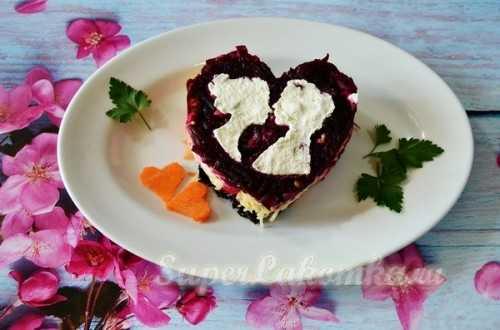 """Как сделать классический салат """"любовница"""" по пошаговому рецепту с фото"""