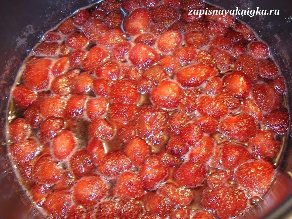 Варенье из клубники в мультиварке на зиму пошаговый рецепт