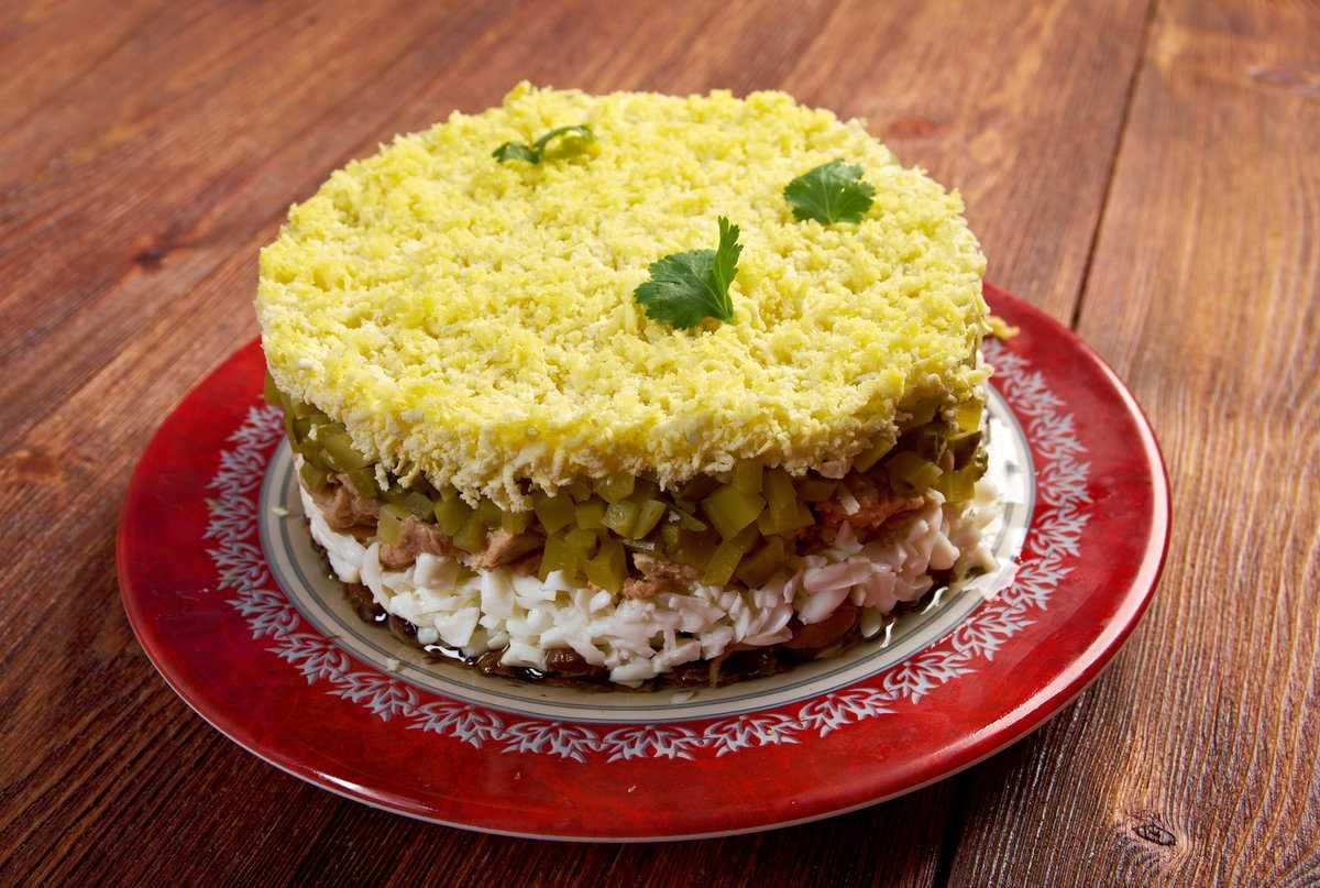 Печеночный салат — 7 рецептов вкуснейших салатов