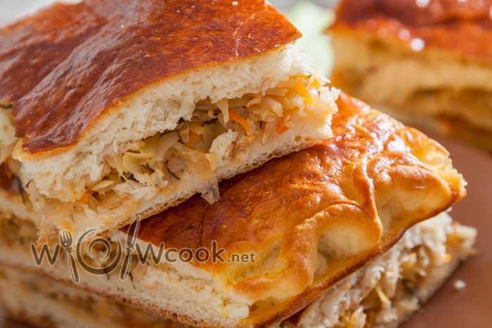 Пирог с капустой и грибами: топ-5 рецептов