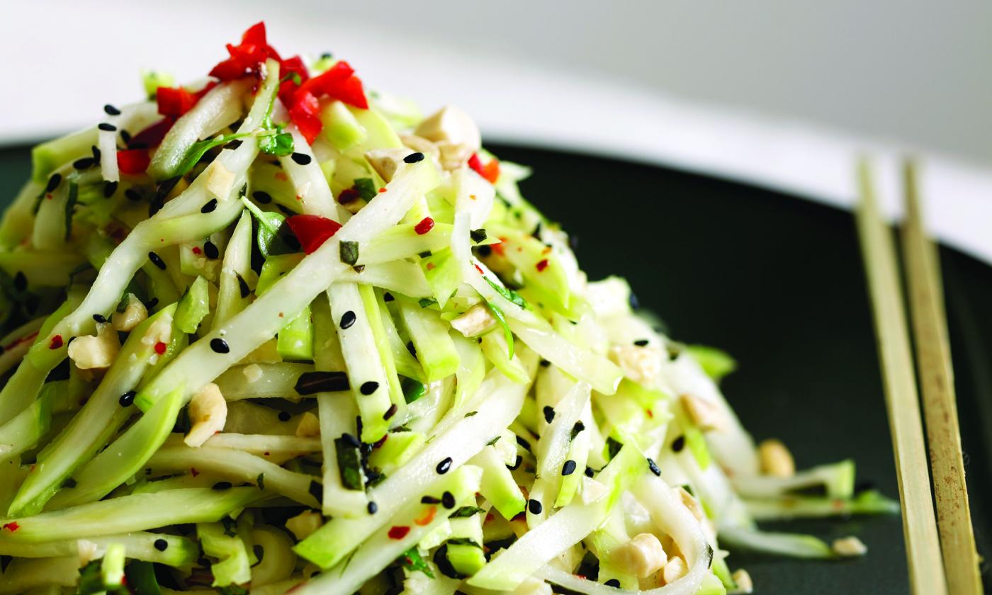 Салат из кольраби: 12 лучших рецептов