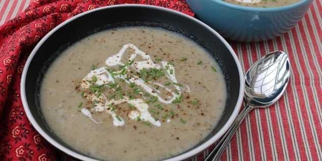 Суп пюре из белых грибов - сочетания вкуса и пользы: рецепт с фото и видео