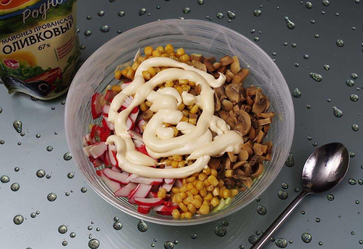 Рецепты салат из пекинской капусты и кукурузы