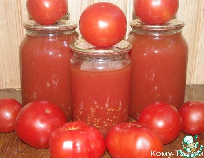 Приготовление томатного сока на зиму в домашних условиях