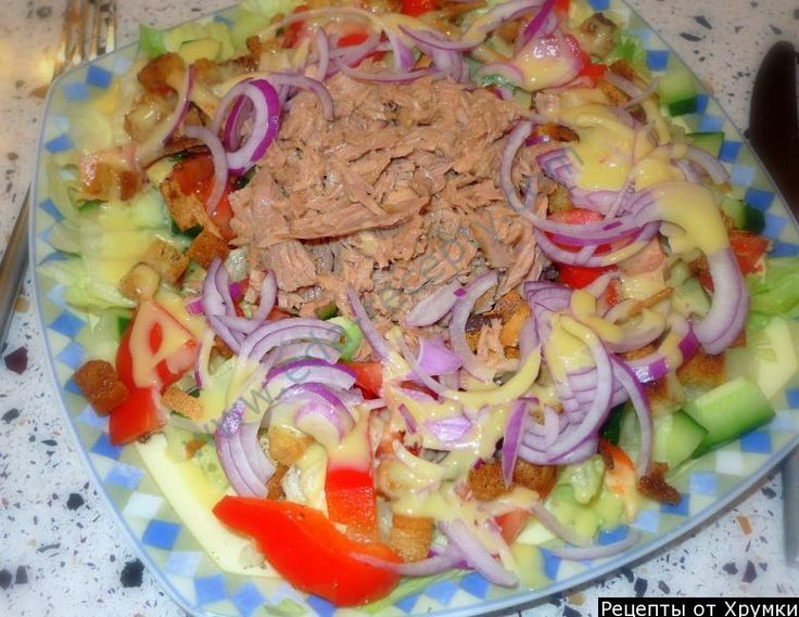 Салат с консервированным тунцом – очень вкусные и простые рецепты
