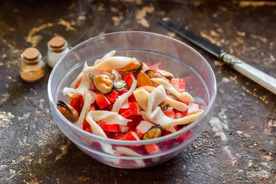 Как приготовить салат с кальмарами на арахисовом масле: поиск по ингредиентам, советы, отзывы, пошаговые фото, подсчет калорий, удобная печать, изменение порций, похожие рецепты
