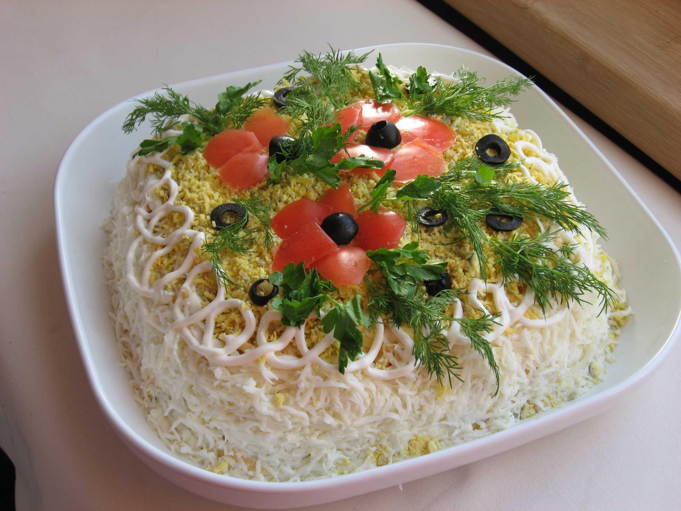 Салат нежность с сыром рецепт с фото пошагово - 1000.menu