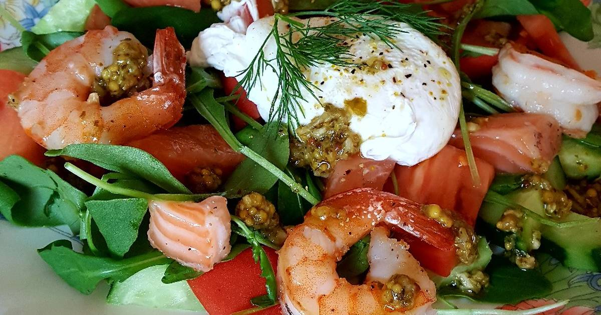 Семга с креветками запеченная рецепт с фото пошагово и видео - 1000.menu