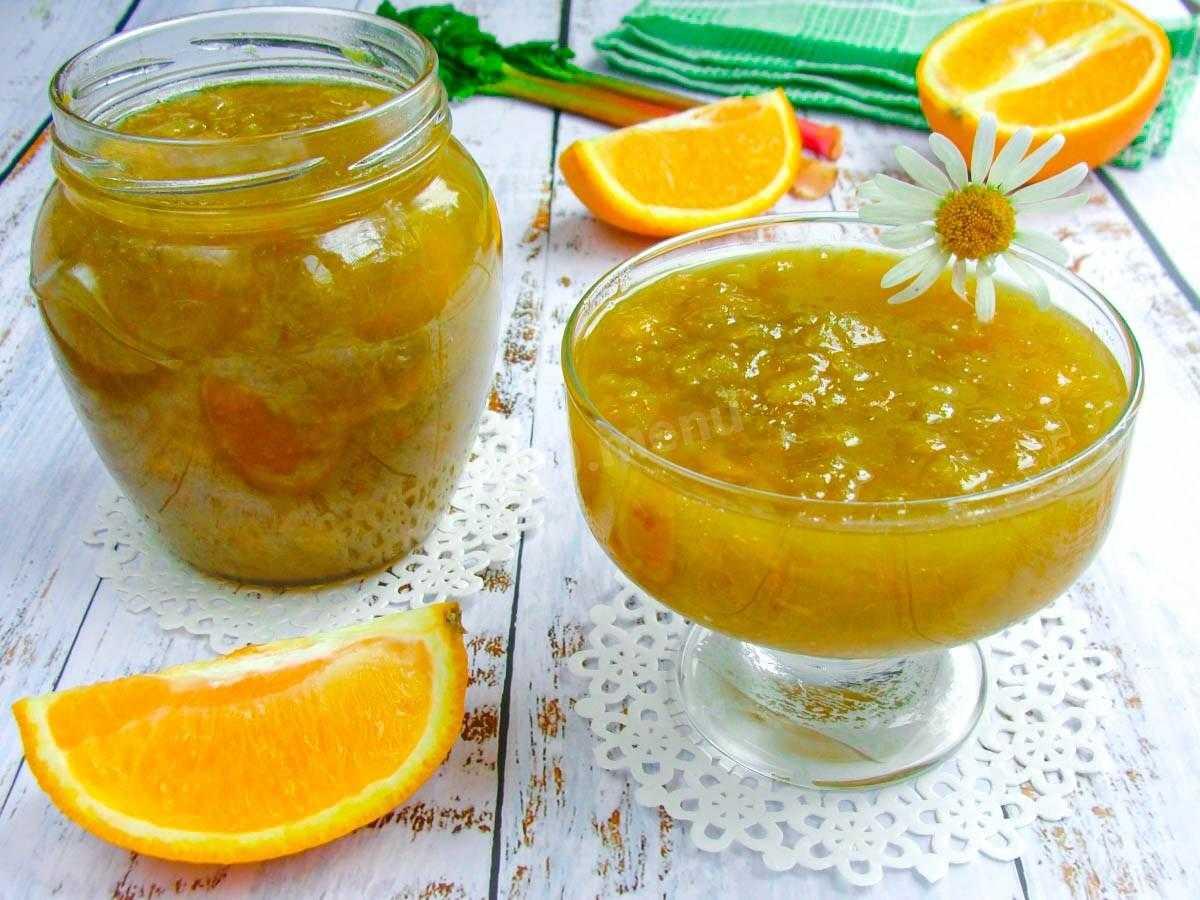 Варенье из яблок с апельсином на зиму: рецепты с фото пошагово