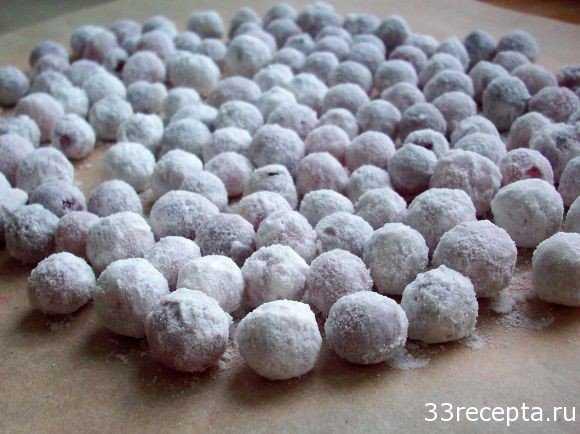 Клюква в сахаре – простой рецепт