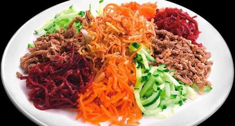 """Салат """"чафан"""". рецепт с фото. пошаговые фотографии. gurmel. салат с говядиной и овощами «чафан салат чафан с курицы рецепт"""